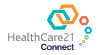 healthcare 21 connect logo